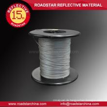 Langlebige Silber grau PE reflektierende Seide
