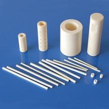 Tube en céramique d'alumine industrielle de grande pureté 99% 99,5%