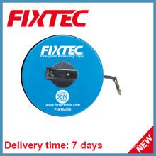 Fixtec Handwerkzeuge 50m ABS Kunststoff Fiberglas Maßband