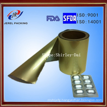 Cold Alu Alu Ny/Alu/PVC Three Layers Compound Foil for Blister Packaging
