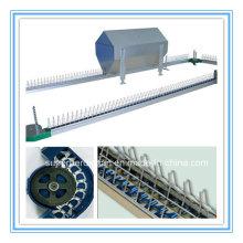 Système chaud d'alimentation de chaîne d'équipement de ferme de volaille de vente pour le poulet d'éleveur