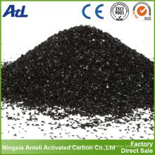 Carbón activado para extracción de oro