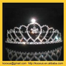 Tiara e coroa da dama de honra