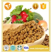 Alimento de gato seco com alto teor de proteína e cálcio com sabor a frango