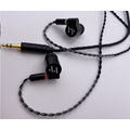 Monitores in-ear Auriculares con cable Conductor dual Cables desmontables
