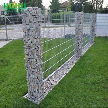 Gabungan Batu Gabion Galvanized Hot Rolled Welded