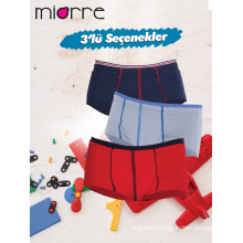 Miorre OEM New 2017 Season Kid's Boy Fashionable 3 Pack Colorful Slip Boxers Underwear