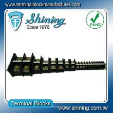 TA-400 600V 400 Amp Din Rail montiert 100 Paar MDF Terminal Block