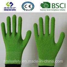 Gants de travail de sécurité en couche de nitrure et de nitrile (SL-NS111)
