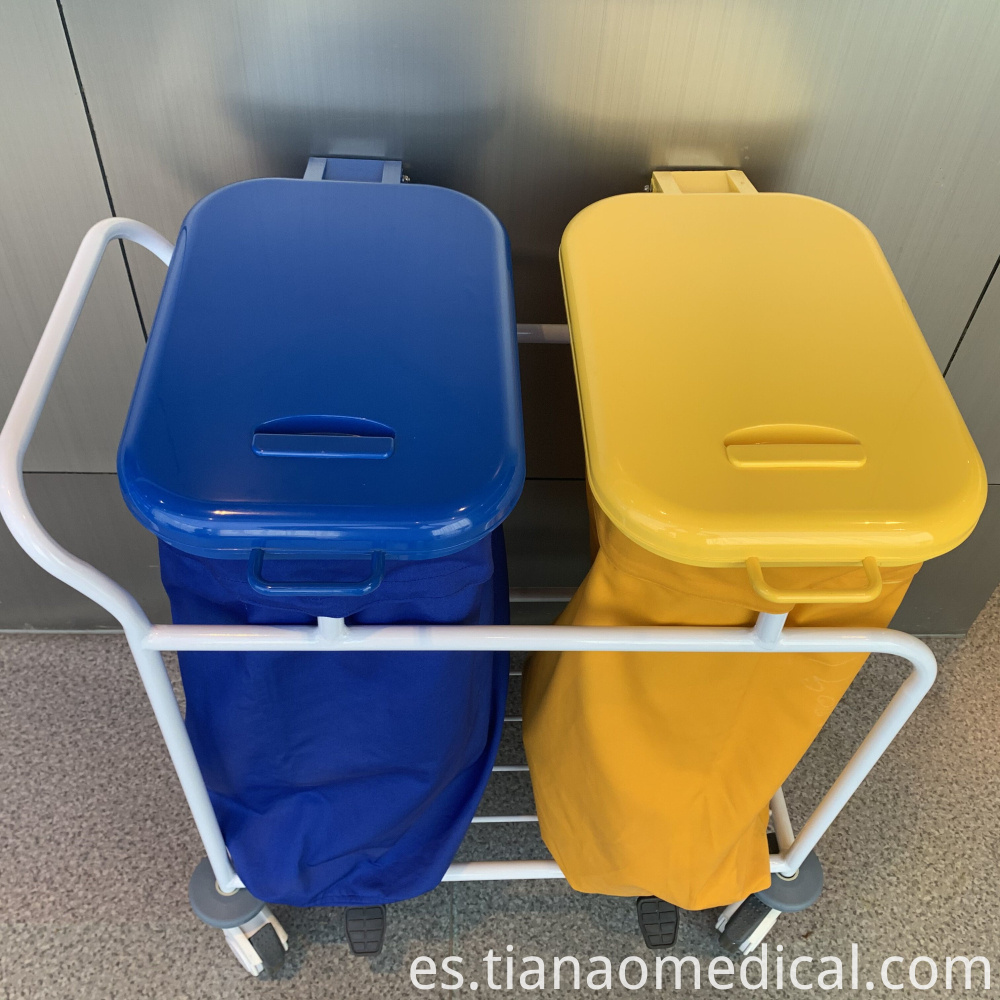 Medical Dirt Cart for Medical Waste