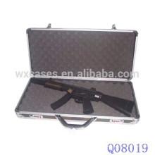 caja de arma militar de aluminio con espuma interior de fábrica de China