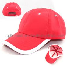 Мягкая удобная бейсбольная кепка из спортивной ткани из полиэфирной микрофибры (TMR4517)