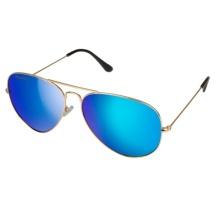 Классические металлические солнцезащитные очки для мужчин - ВВС 1950 (16114)