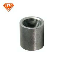 Acoplamiento medio de acoplamiento de rosca de acoplamiento de acero al carbono