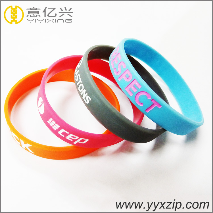 Customized Silicon Wristband