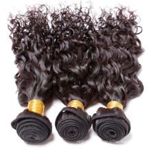 Großhandelsgeschenk 1b # Farbe remy Haar wellig Verlängerungslocke des Haares 100% wellig