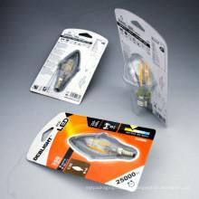 OEM Plastic Packaging Folding Box for Light Bulb