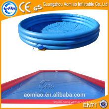 Large inflatable inflatable rectangular swimming pool big inflatable pool