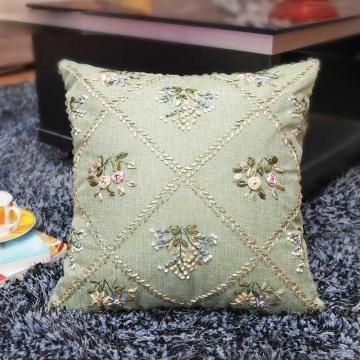 Cadeau de maison de mode de broderie de ruban de jardin