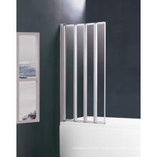 Tela de banho de chuveiro bi-fold BS-85