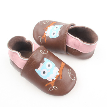Handmade Soft Leather Infant Shoes Baby Loafer