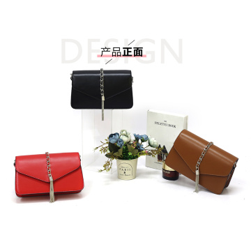 Hot Selling Brown Messenger Clutch Schultertasche