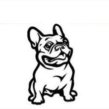 Self-adhesive Vehicle Decoration Dog Car Decals Sticker,Car Body Sticker Design