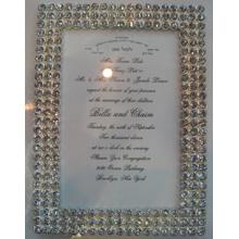 Чистый бриллиант фото рамка высшего класса свадебный подарок