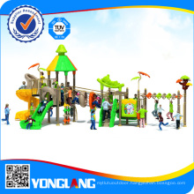 Commercial Outdoor Playground Equipment with Tube Slide