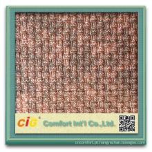 Novo pvc de couro sintético de design em relevo fabricado na China