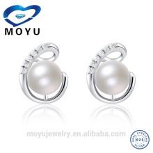 Orden de mezcla de la ayuda de los pendientes de la nueva perla de agua dulce del diseño 2015