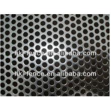 Venta caliente de la hoja de malla del metal perforado del acero inoxidable / galvanizado