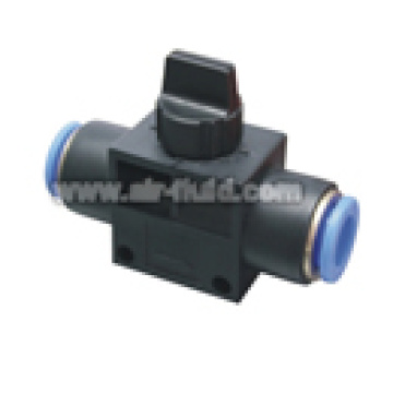 Aire-líquido HVFF 3 manera tubo X tubo válvula de escape