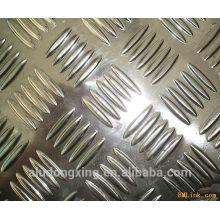 Folha de alumínio ondulado Padrões variados