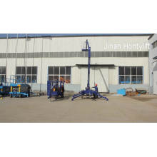 Hydraulic single man lift indoor cleaning lift
