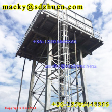 1220x1220mm elevated assembled steel water tank factory with 18 years' experience