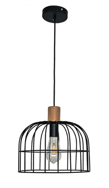Black Iron Fashion Chandelier