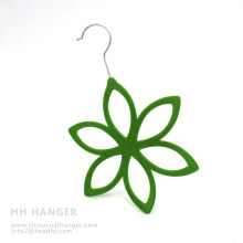 Hot Sale Flocked Scarves Hangers, New Fashion Velvet Tie Hanger