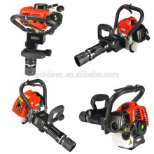 New 50mm 55mm 70mm 900w 32.7cc Mini Petrol Piling Machine Portable Gasoline Powered Pile Driver