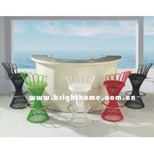 Mesa de bar y silla de bar (BP-917)
