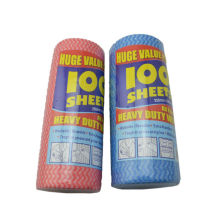 100PK / Küche Spunlace Wischtuch Haushalt Vliestücher für den Verkauf mit guter Qualität