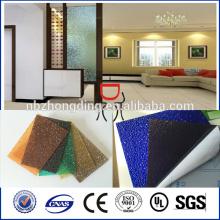 PC plastic sheet polycarbonate embossed sheet for bathroom