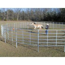 Горячая окуная оцинкованная кованая железная овечья заборная панель, ферменная решетка для забора крупного рогатого скота, оцинкованная горячеоцинкованная стальная панель