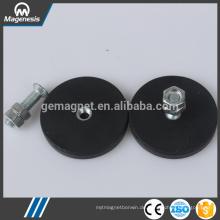 China Top-Level-schwarze Gummi Topf Magnet