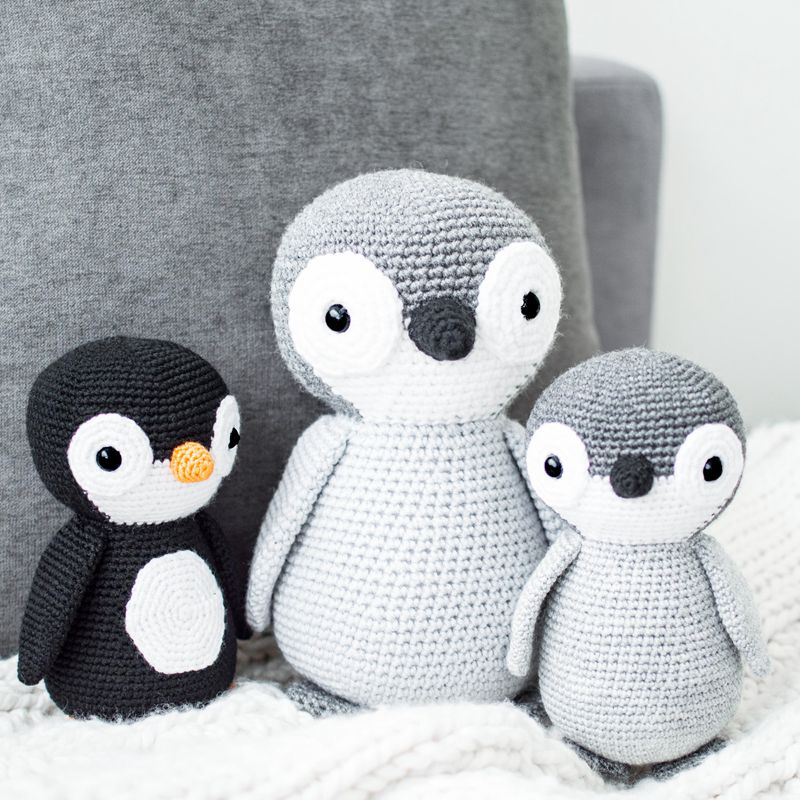 13 5 Crochet Penguin