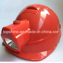 De Buena Calidad De Seguridad Minera Industrial Seguridad Casco con luz LED