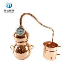 5L hydrolate extraction traditional  mini stove heating herb essential oil distiller essential aromatic oils distiller