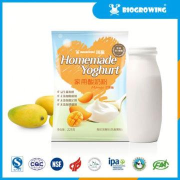 fruit taste lactobacillus yogurt recipe homemade