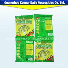 2016 Fabricación de productos químicos de China Mosquito Bobina sin humo Bobina de papel Mosquito