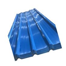 Construcción de hoja de acero corrugado galvanizado en color PPGI